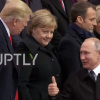 Vladimir Putin Flashes Unexpected Gesture To Trump At WWI Centenary...